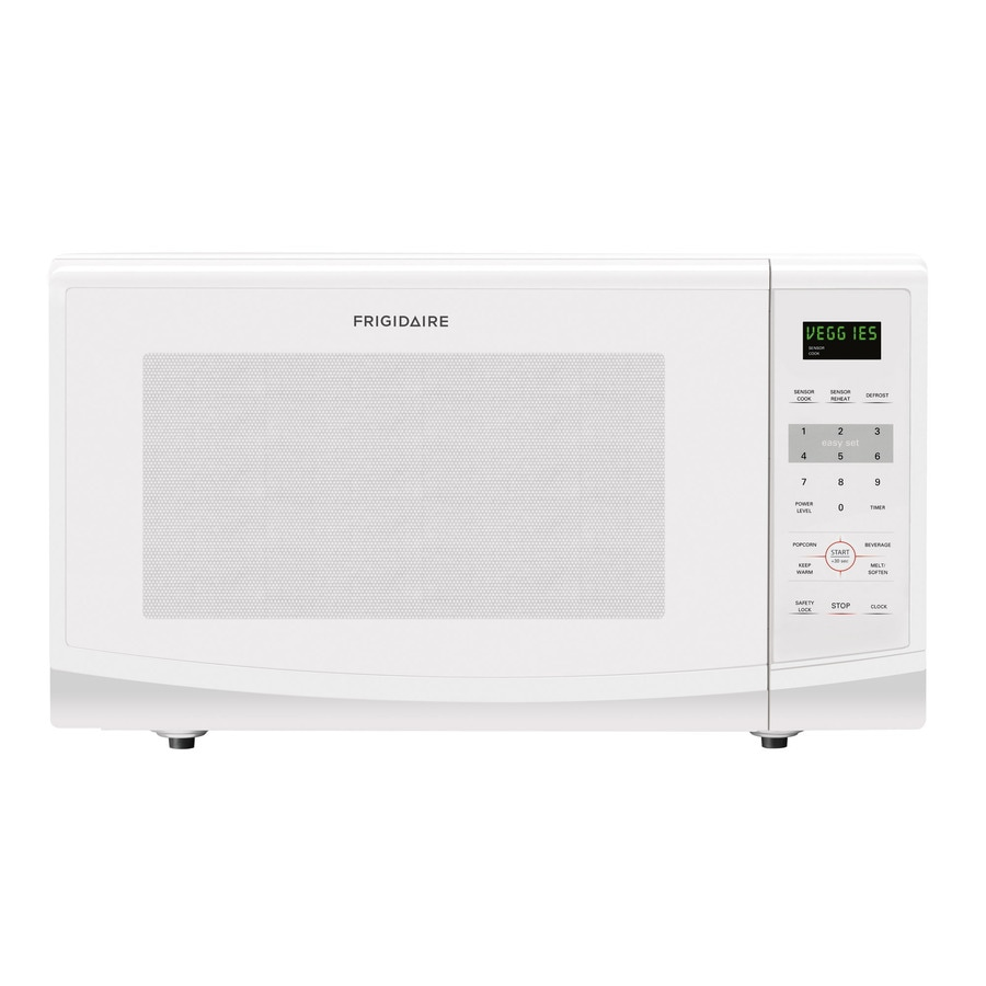 Frigidaire 2.2-cu ft 1,200-Watt Countertop Microwave (White)