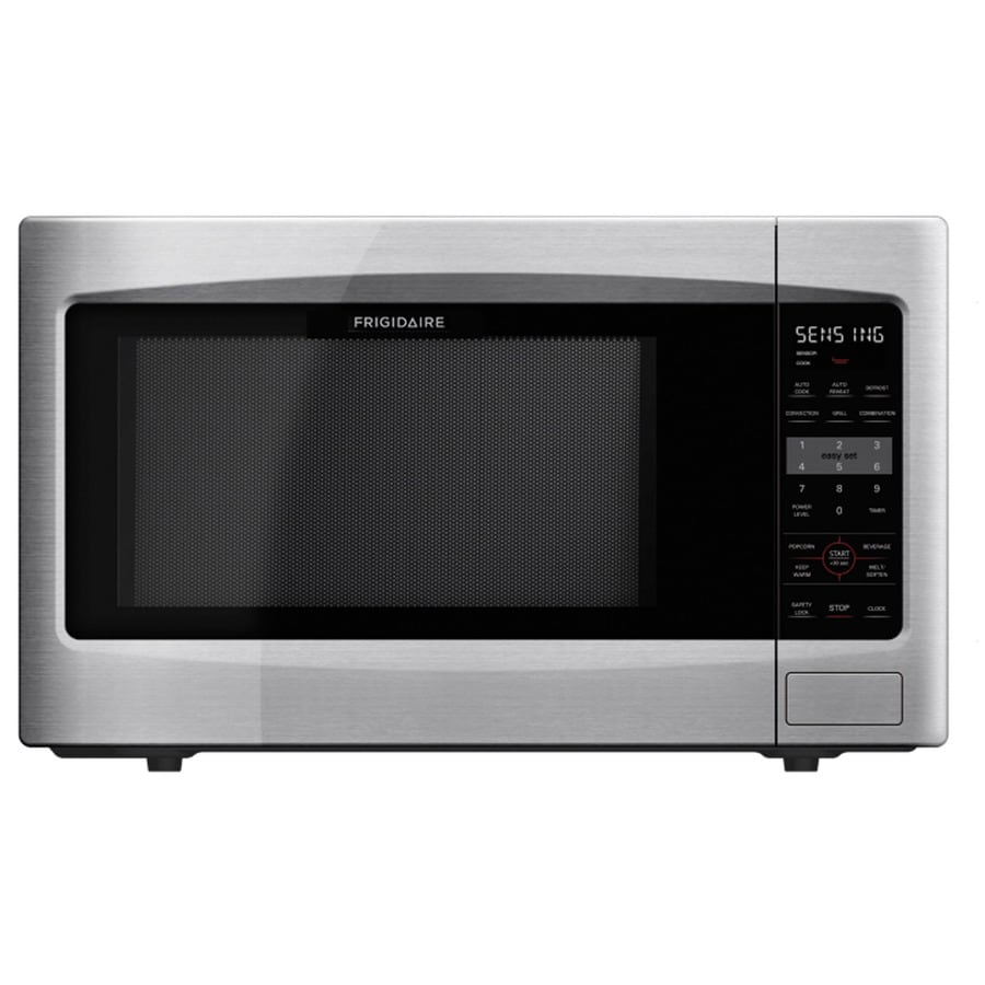 Frigidaire 2.2-cu ft 1,200-Watt Countertop Microwave (Stainless Steel)