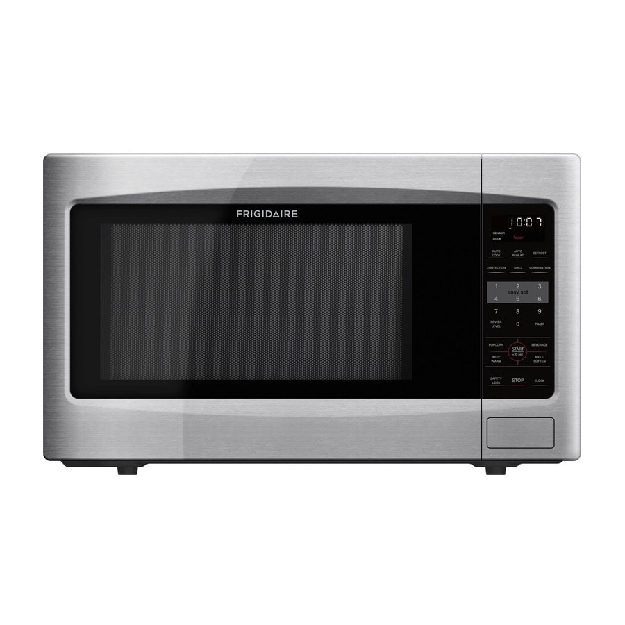Frigidaire 1.2-cu ft 1,100-Watt Countertop Convection Microwave (Stainless Steel)