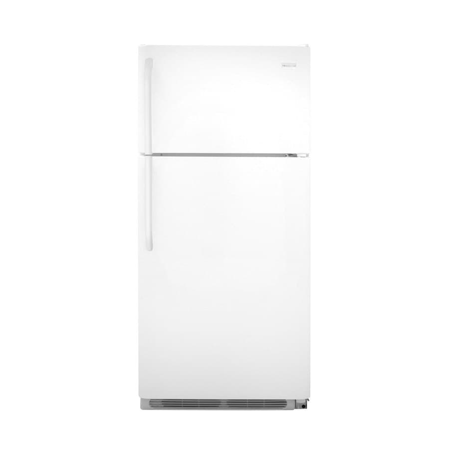 Frigidaire 18.2-cu ft Top-Freezer Refrigerator (White)