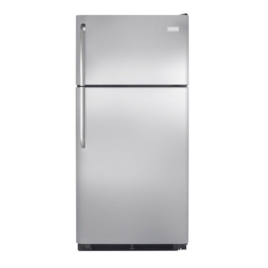 Frigidaire 18.2-cu ft Top-Freezer Refrigerator (Stainless Steel)