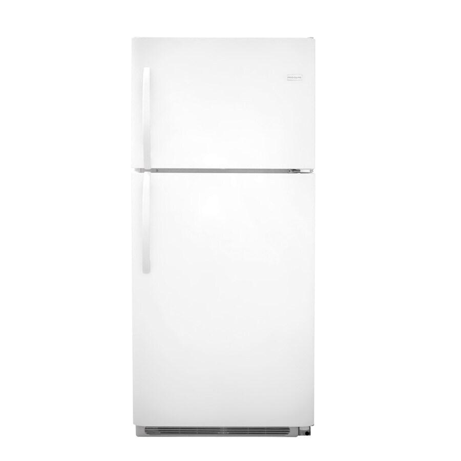 Frigidaire Gallery 20.6-cu ft Top-Freezer Refrigerator (White)
