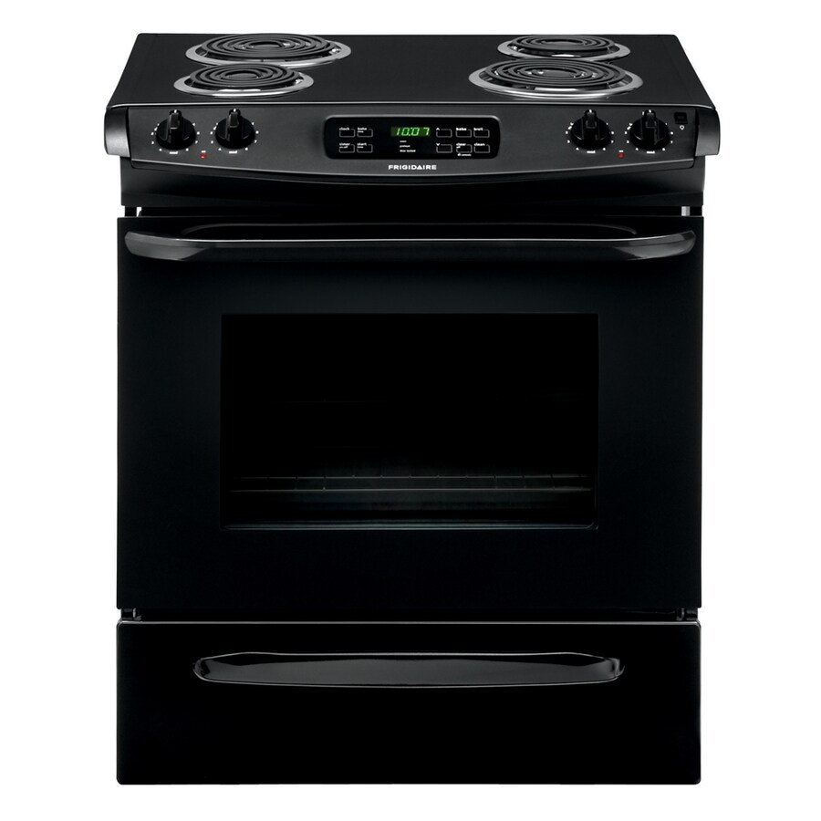 Frigidaire 4-Element Slide-In Electric Range (Black) (Common: 30-in; Actual 30-in)