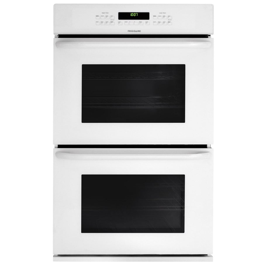 Frigidaire Self Cleaning Double Electric Wall Oven (White) (Common: 27-in; Actual: 27-in)