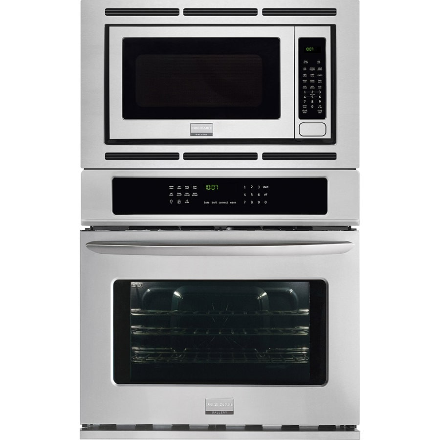 Frigidaire Gallery Self-Cleaning with Steam Microwave Wall Oven Combo (Common: 27-in; Actual: 27-in)