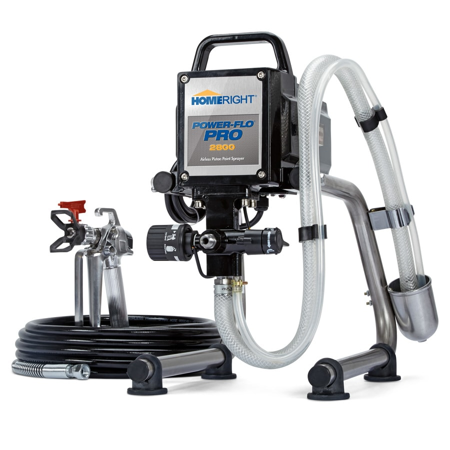 Shop Homeright Power Flo Pro Electric Stationary Airless Paint Sprayer At