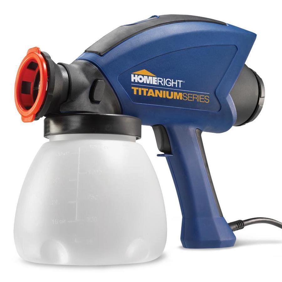 HomeRight Titanium Electric Handheld Airless Paint Sprayer