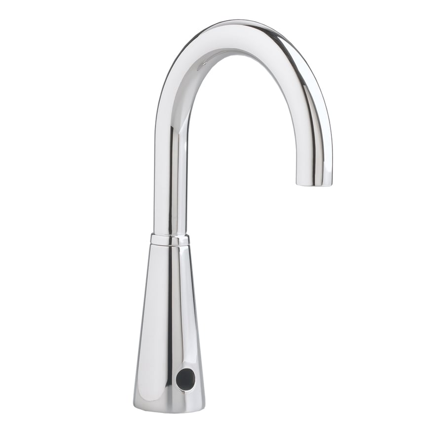 American Standard Selectronic Polished Chrome Touchless Single Hole WaterSense Bathroom Sink Faucet