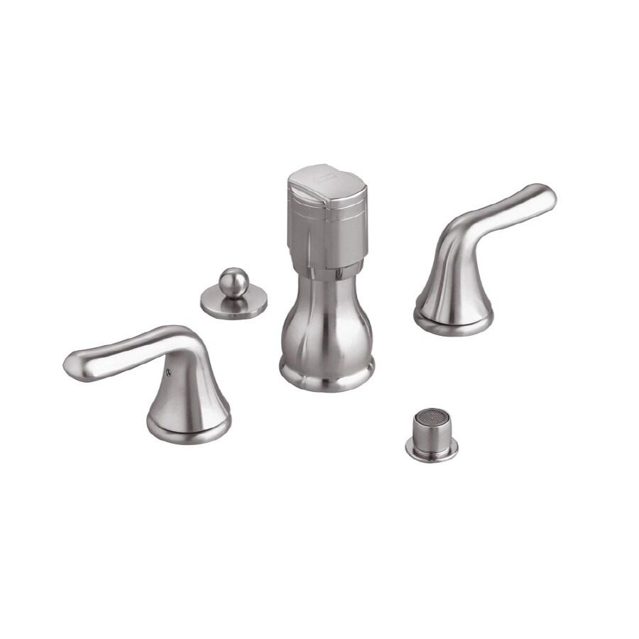 American Standard Colony Satin Nickel Vertical Spray Bidet Faucet