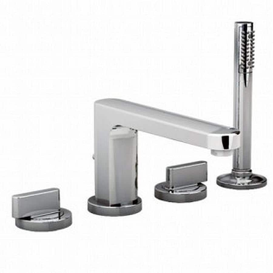 American Standard Moments Polished Chrome 2-Handle Fixed Deck Mount Tub Faucet