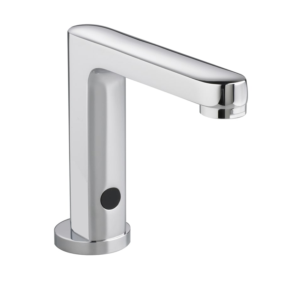 ... Chrome Touchless Single Hole WaterSense Bathroom Faucet at Lowes.com