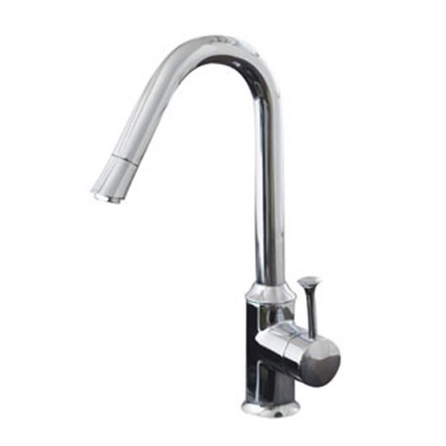 American Standard Pekoe Polished Chrome 1-Handle High-Arc Kitchen Faucet