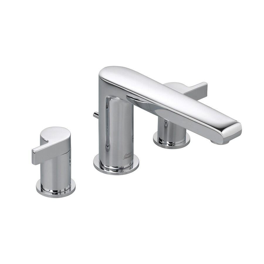 American Standard Studio Polished Chrome 2-Handle Fixed Deck Mount Tub Faucet