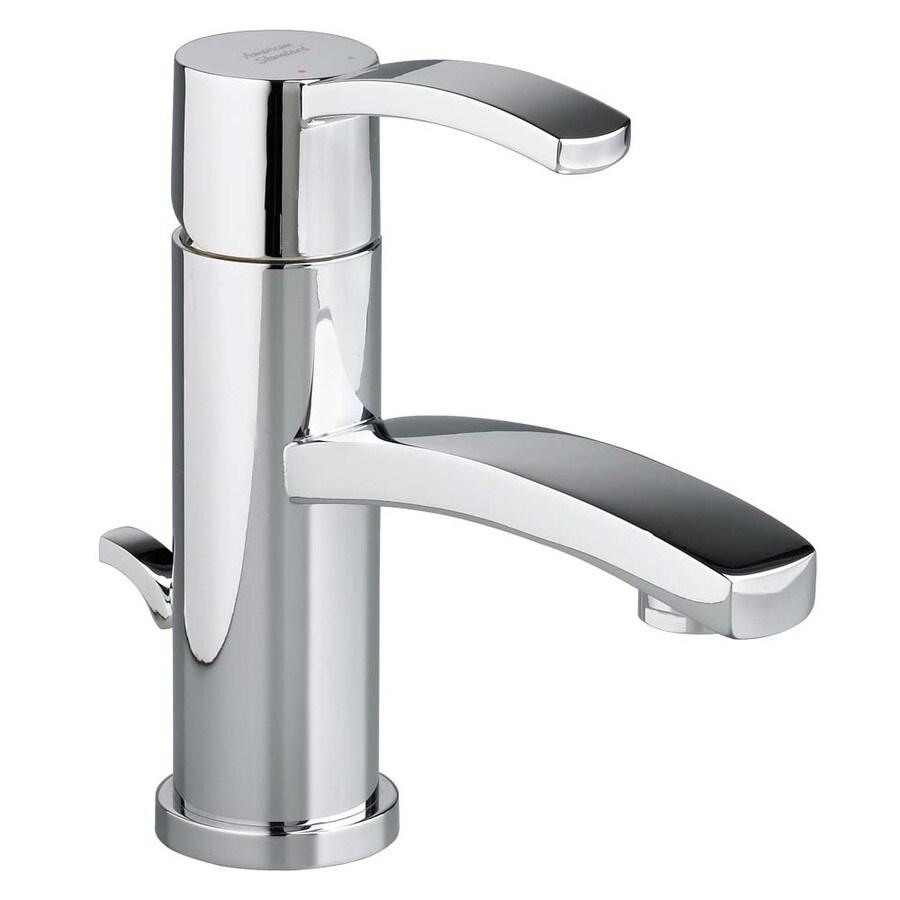 American Standard Berwick Polished Chrome 1-Handle Single Hole WaterSense Bathroom Faucet (Drain Included)