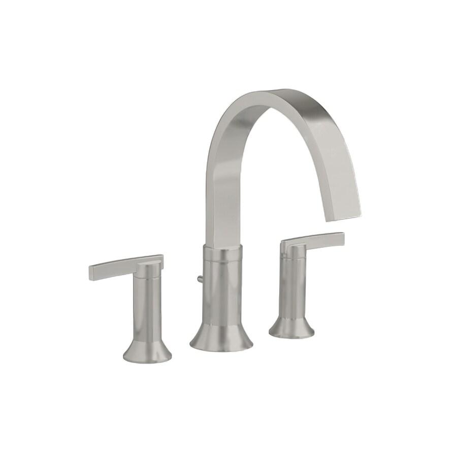 American Standard Berwick Satin Nickel 2-Handle Fixed Deck Mount Tub Faucet