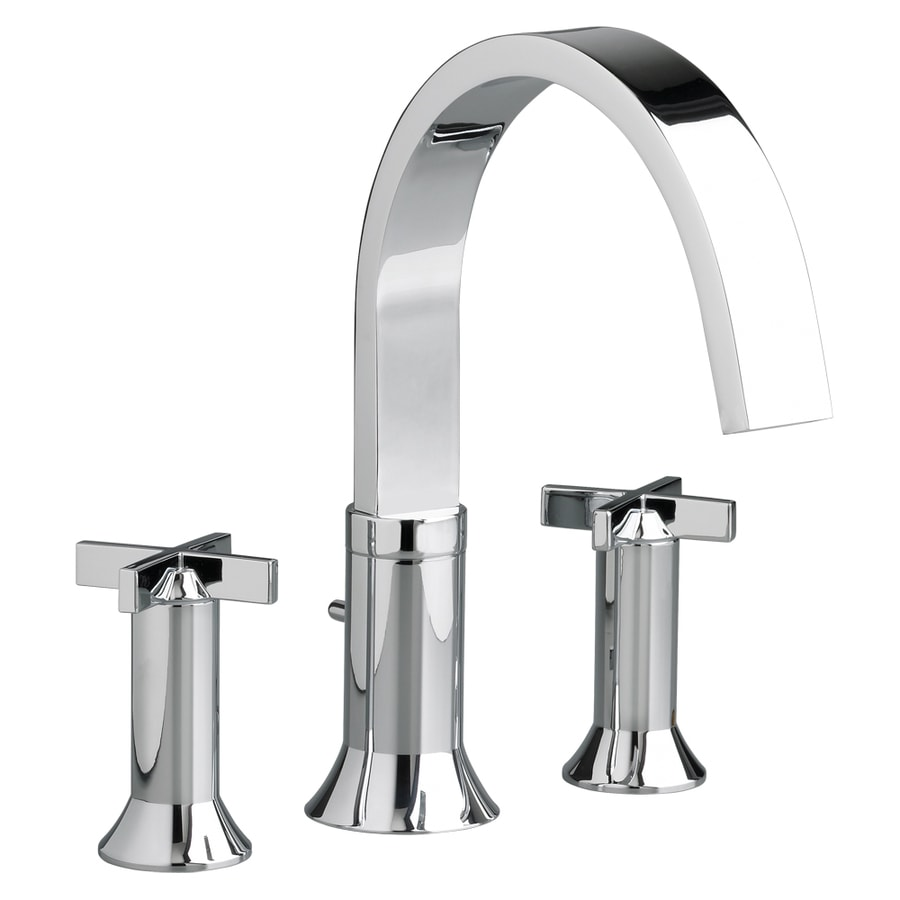 American Standard Berwick Polished Chrome 2-Handle Fixed Deck Mount Tub Faucet