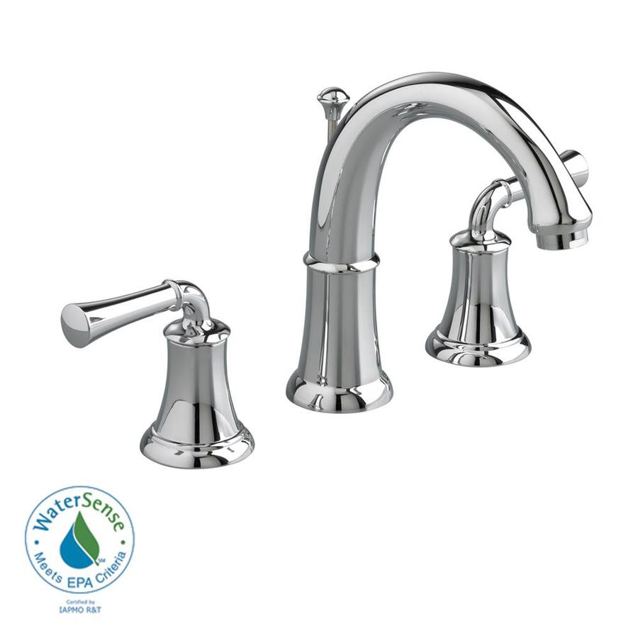 Shop American Standard Portsmouth Polished Chrome 2 Handle Widespread Watersense Bathroom Faucet