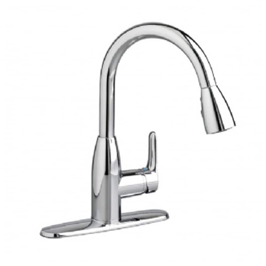 Shop American Standard Colony Chrome 1 Handle Pull Down Kitchen Faucet At Lowes Com