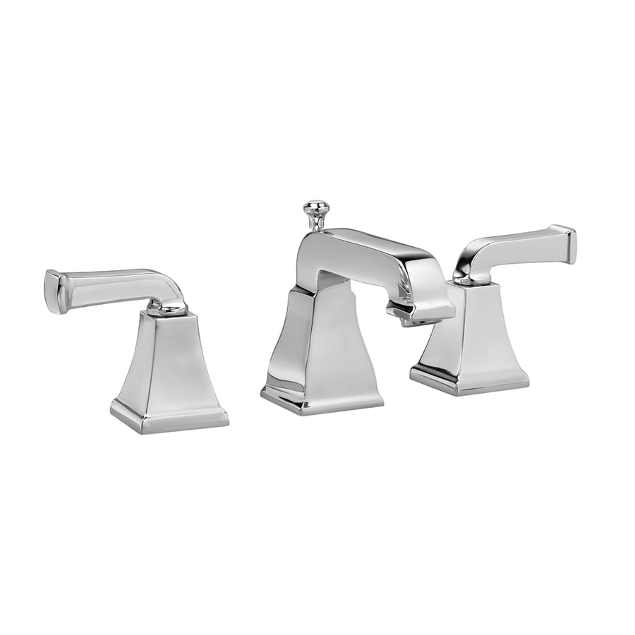American Standard Town Square Polished Chrome 2-Handle Widespread WaterSense Bathroom Faucet (Drain Included)