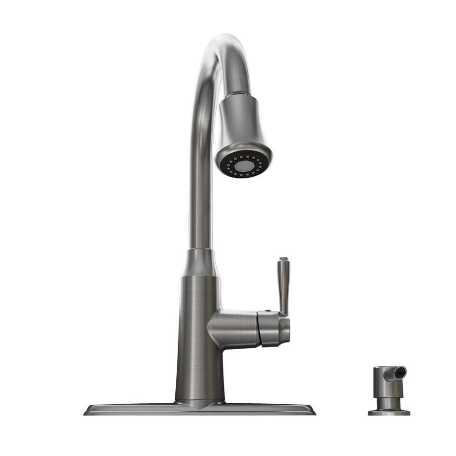American Standard Soltura Stainless Steel 1-Handle Pull-Down Kitchen Faucet