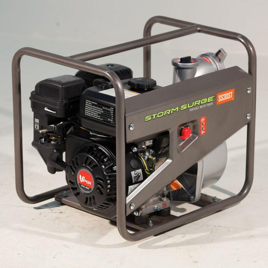 Storm Surge 5.5-HP Cast Iron Gas-Powered Utility Pump