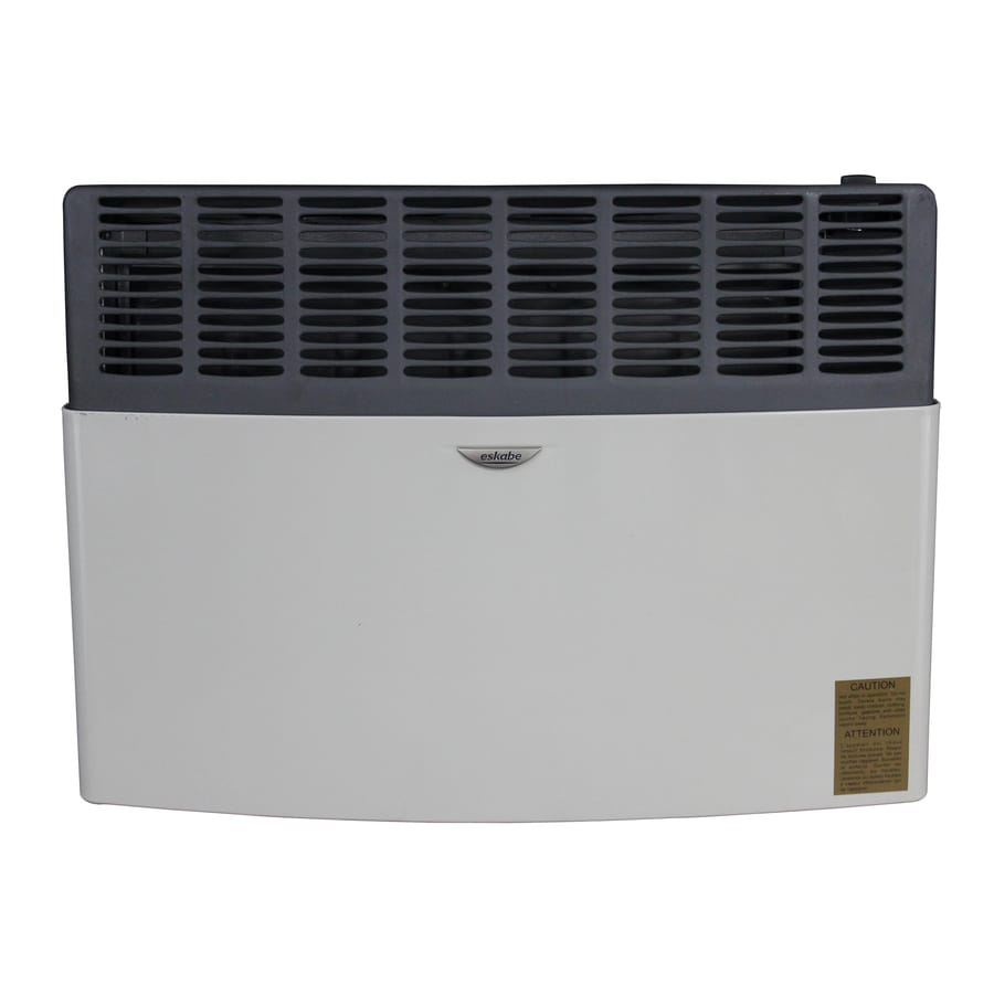 How To Light Your Wall Heater : Shop Ashley Hearth Products 17,000-BTU Wall-Mount Liquid Propane Vented Convection Heater at ...