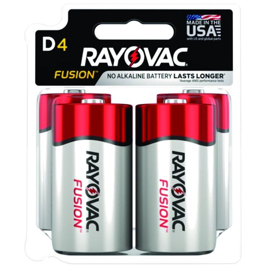 Rayovac D Alkaline Battery