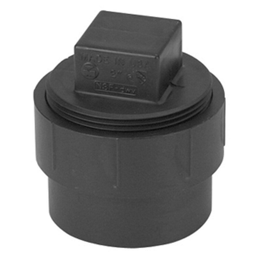 Mueller Streamline 4-in Dia ABS Cleanout Adapter Fitting