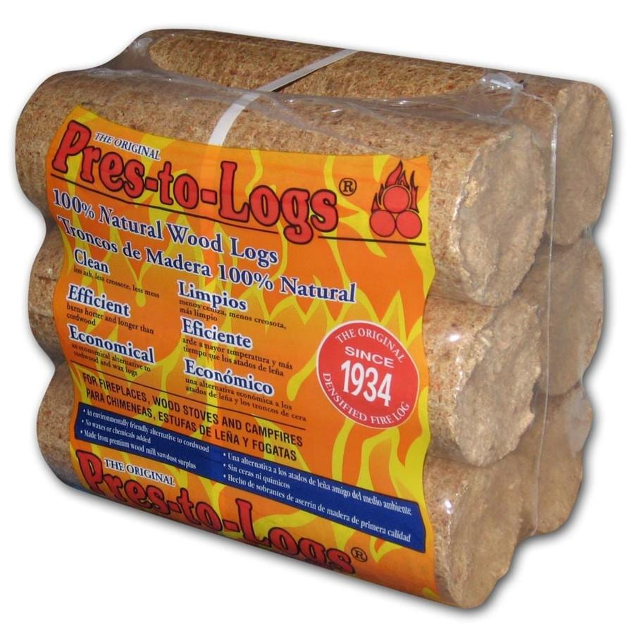PRES-TO-LOG 6-Pack 5-lb Fire Logs