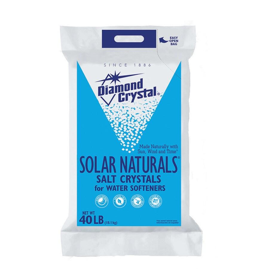 Diamond Crystal 40 lbs Water Softening Salt Solar Crystals