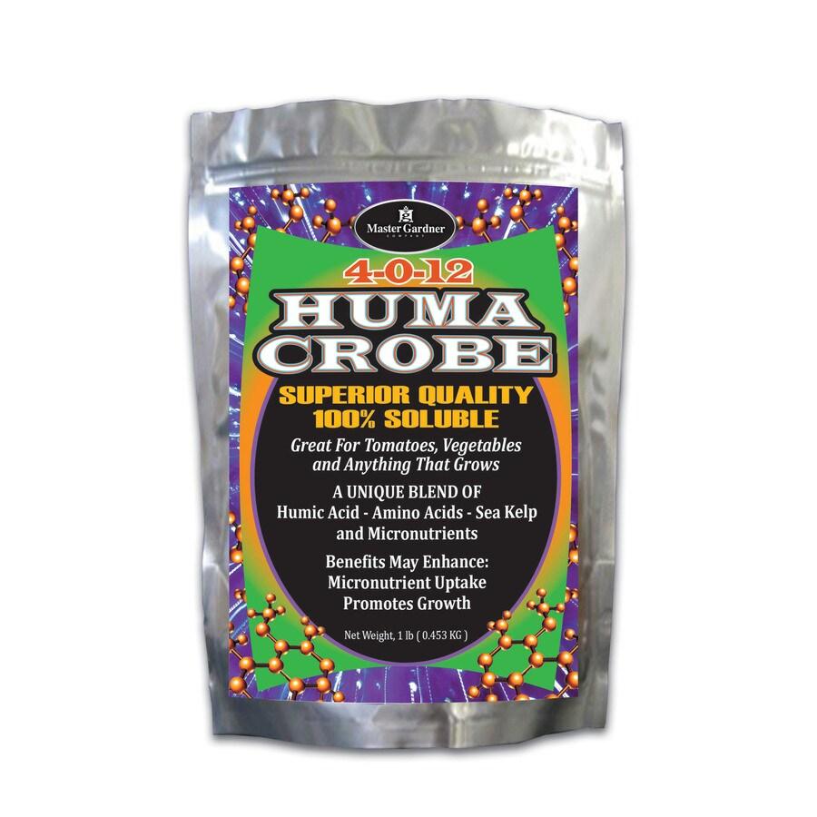 Master Gardner Huma Crobe 1-lb Organic/Natural All Purpose Food (4-0-12)