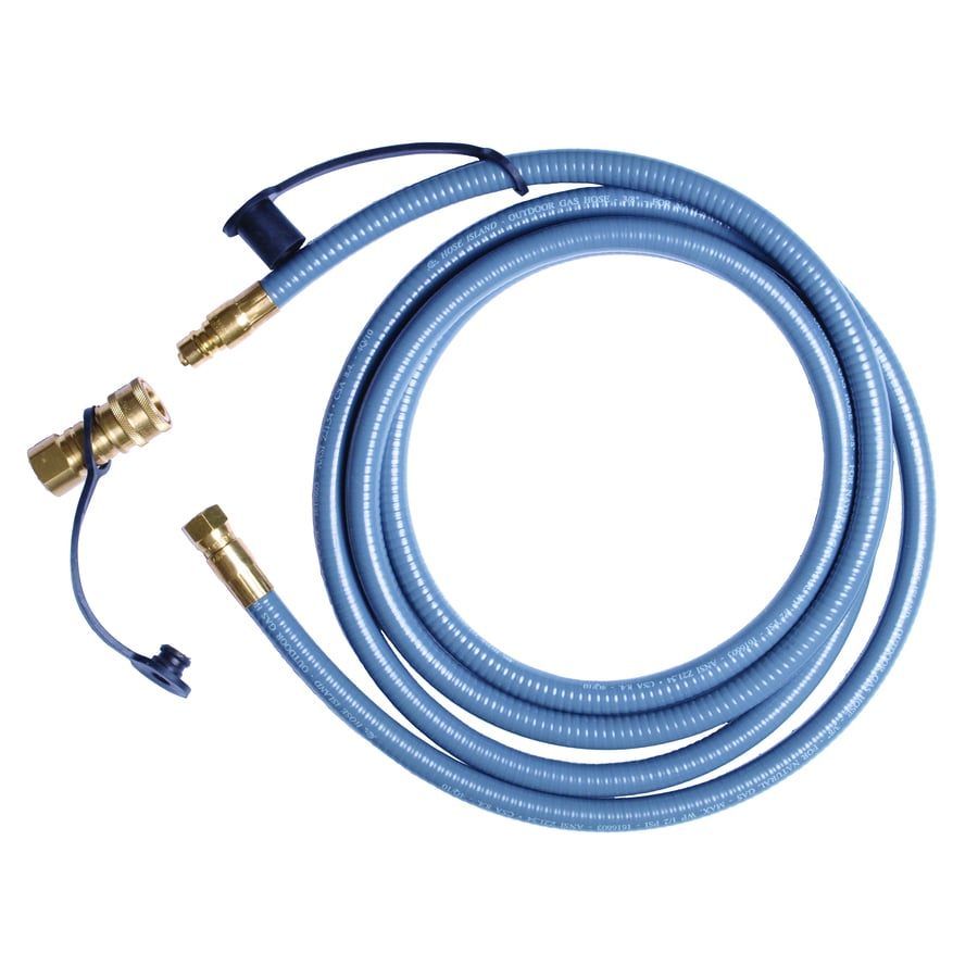 BernzOmatic 3/8-in 0.375-in x 10-ft Male-Female Quick-Connect Natural Gas Hose