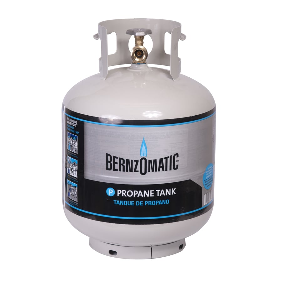 Shop Bernzomatic 20 Lb Propane Tank At Lowes Com