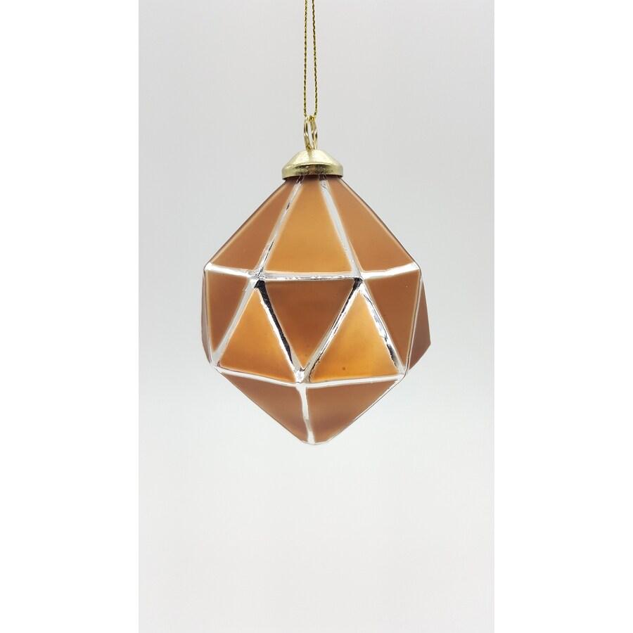 allen + roth Copper Ball Ornament