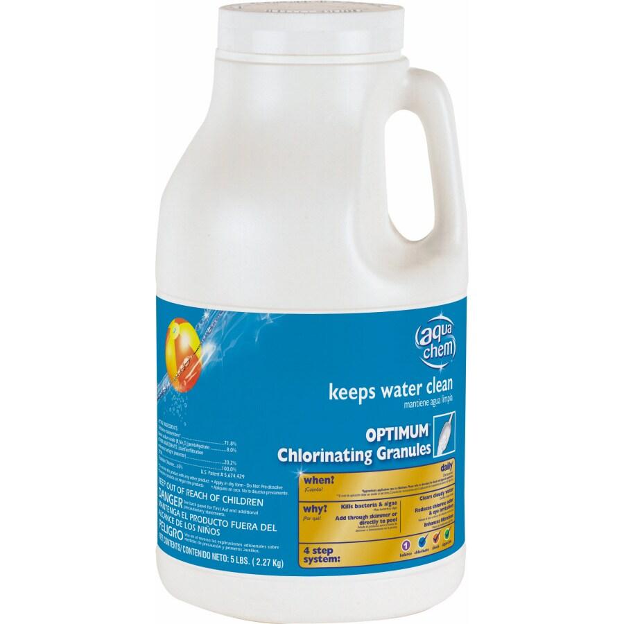 Aqua Chem 5-lbs Granular Pool Chlorine