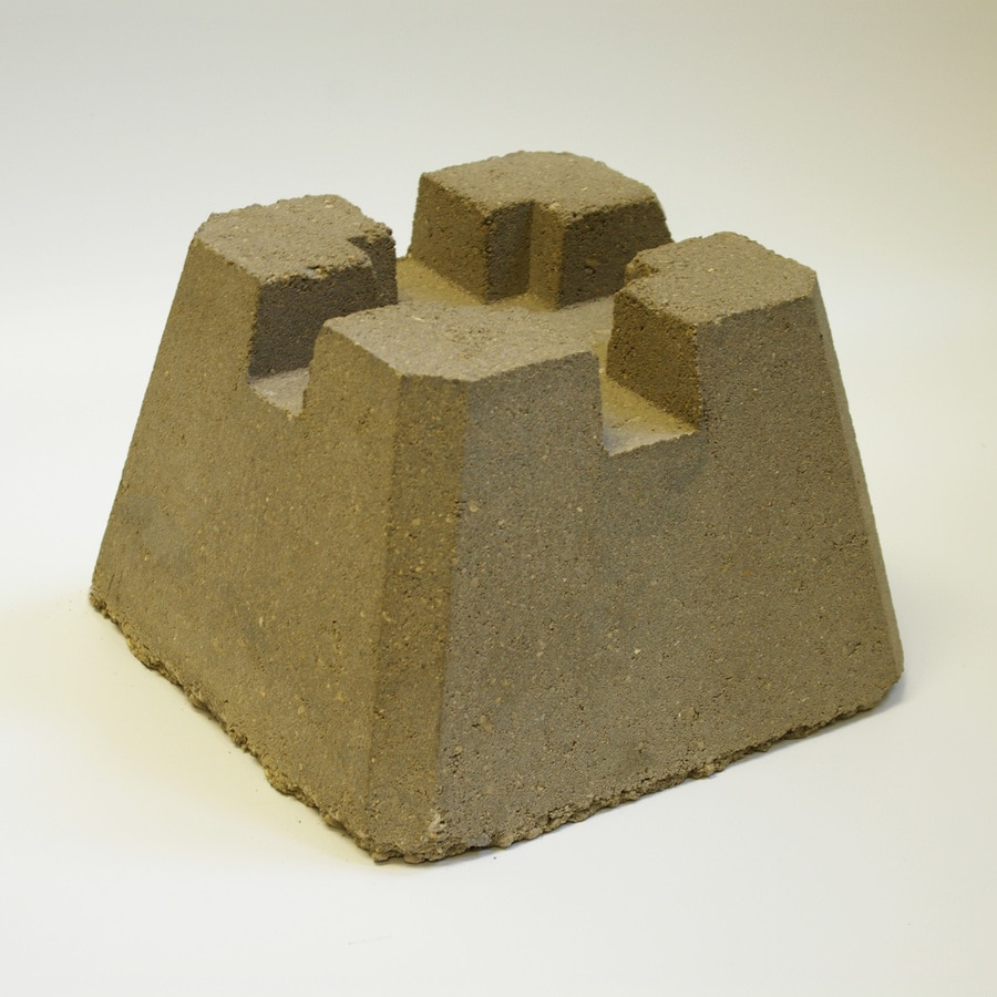 Deck Block (Common: 7.5-in x 11.5-in x 11.5-in; Actual: 8-in x 12-in x 12-in)