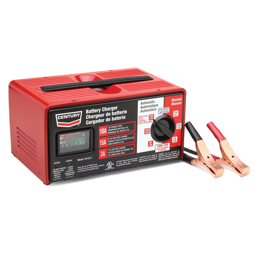 shop century 100 amp battery charger at. Black Bedroom Furniture Sets. Home Design Ideas