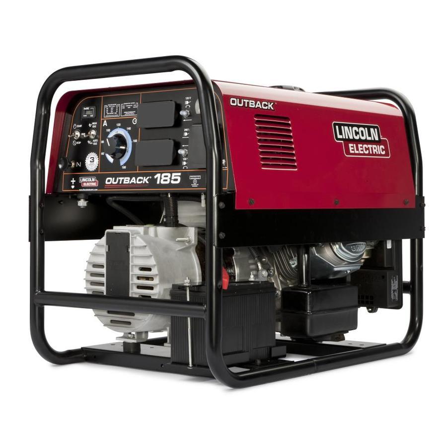 Lincoln Electric 12-HP 3600-RPM Stick Welder Generator