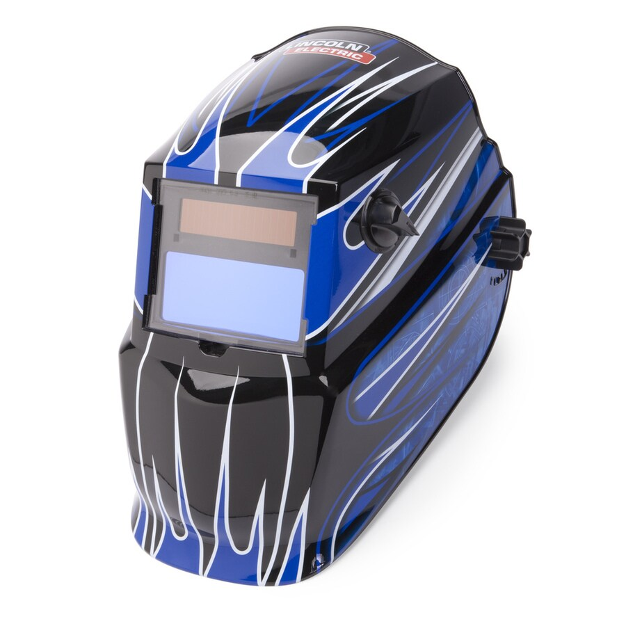 Lincoln Electric Auto Darkening Variable Shade Blue Welding Helmet