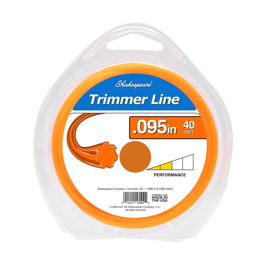 Shakespeare 40-ft Spool 0.095-in Trimmer Line