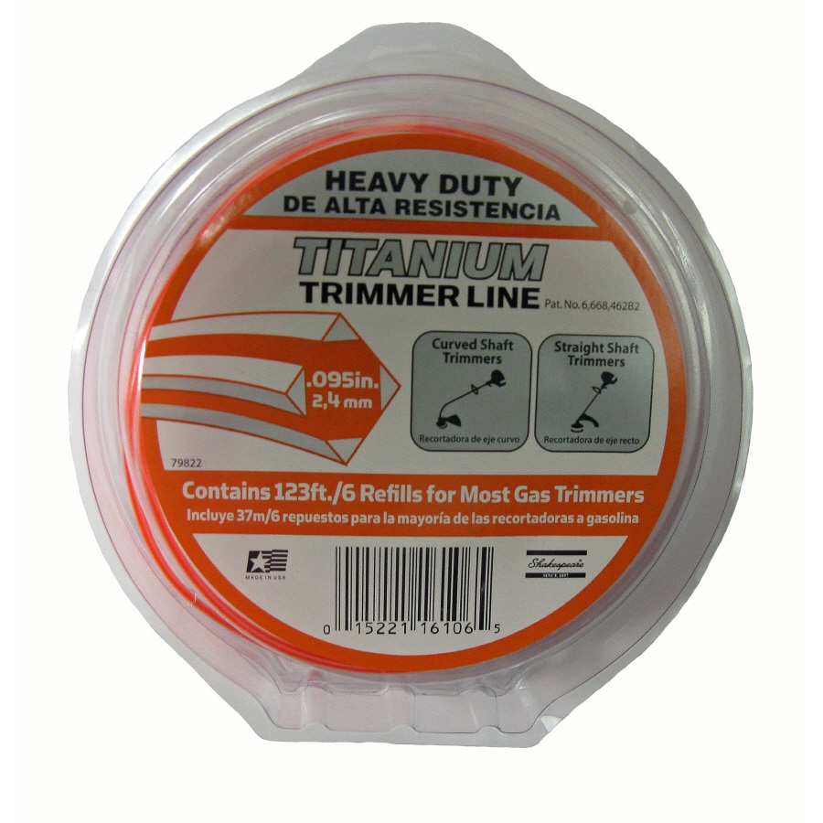 Shakespeare 125-ft Spool 0.095-in Trimmer Line