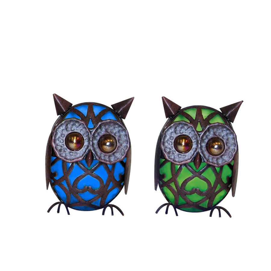 Garden Treasures Solar Wise Owl