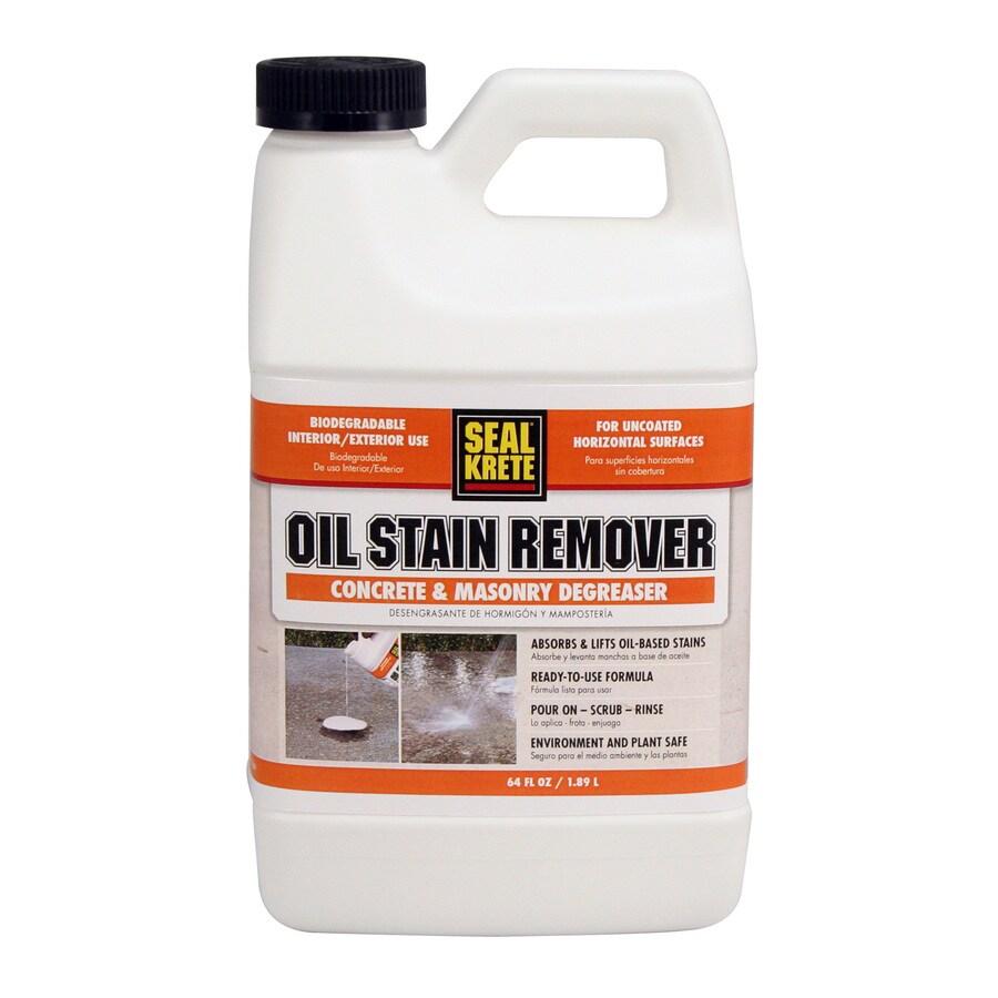 Seal-Krete 1/2-Gallon Oil Stain Remover