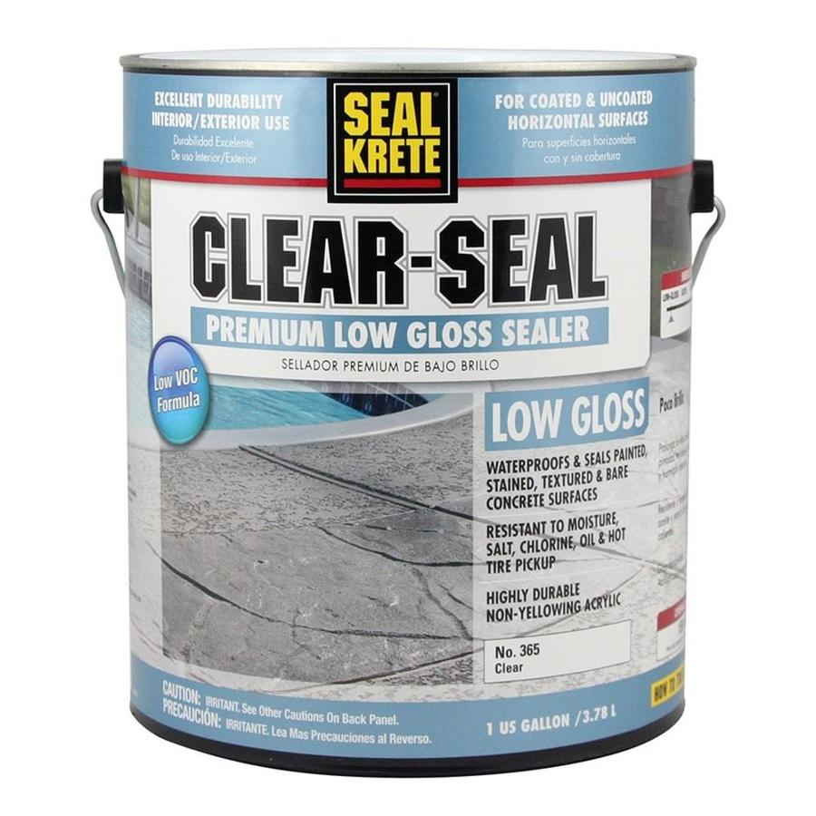 Rust-Oleum High Performance Clear Protector 1-Part Clear Soft-Gloss Acrylic Garage Floor Epoxy (Actual Net Contents: 128-fl oz)