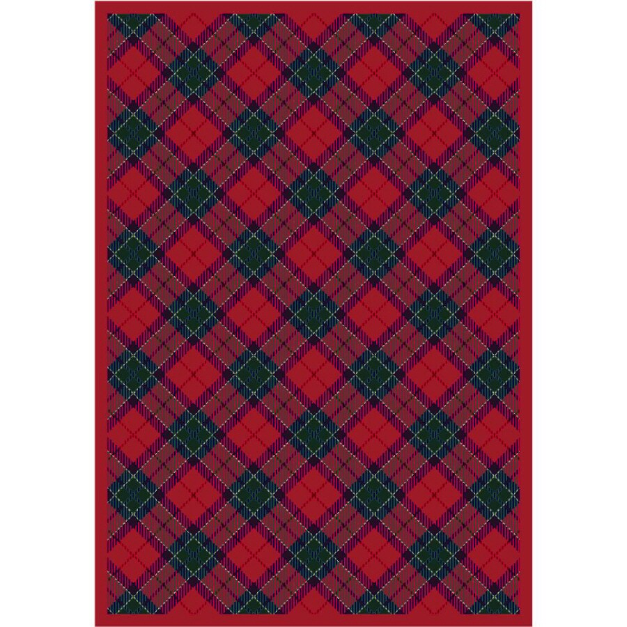 Milliken Fergus Multicolor Rectangular Indoor Tufted Area Rug (Common: 5 x 8; Actual: 64-in W x 92-in L)