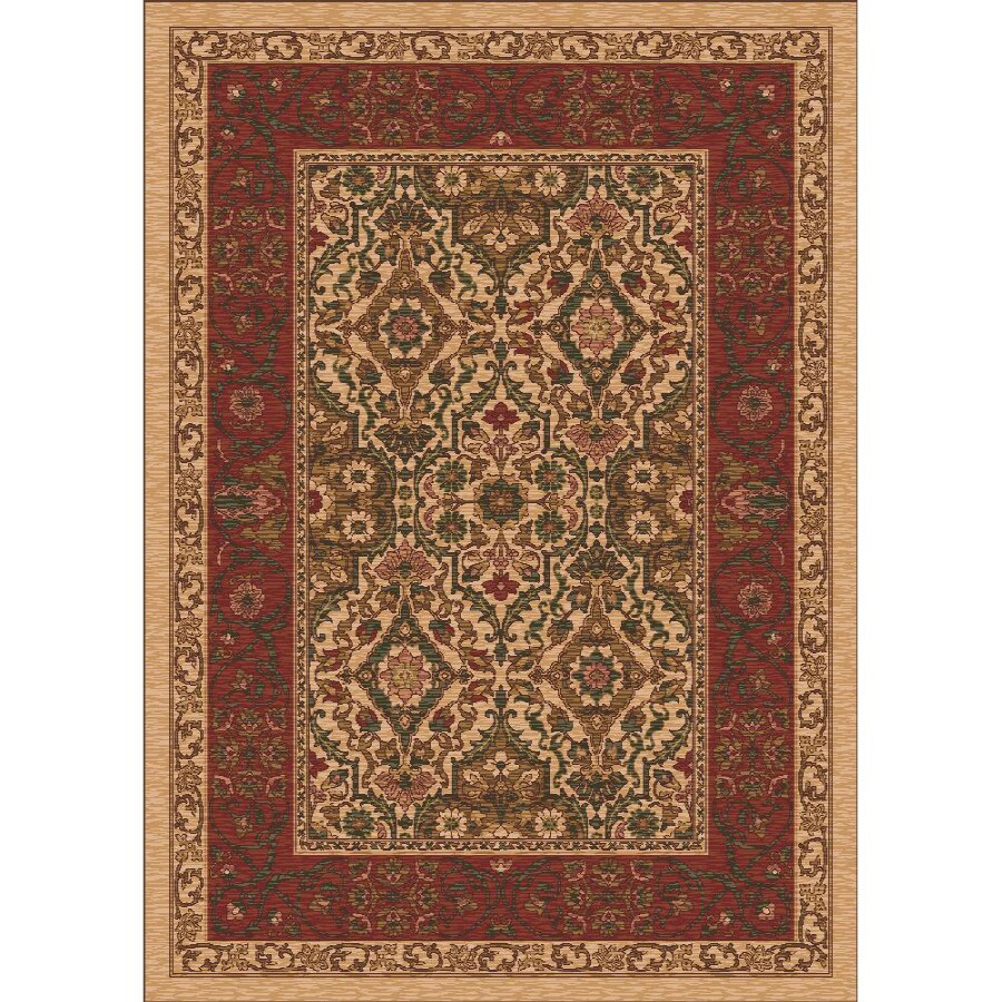 Milliken Sandakan Multicolor Rectangular Indoor Tufted Area Rug (Common: 4 x 6; Actual: 46-in W x 64-in L)
