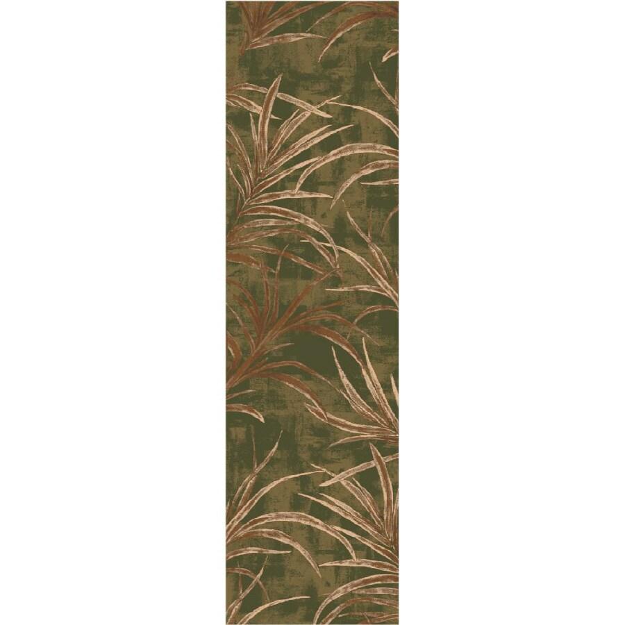 Milliken Rain Forest Multicolor Rectangular Indoor Tufted Runner (Common: 2 x 8; Actual: 25-in W x 92-in L)