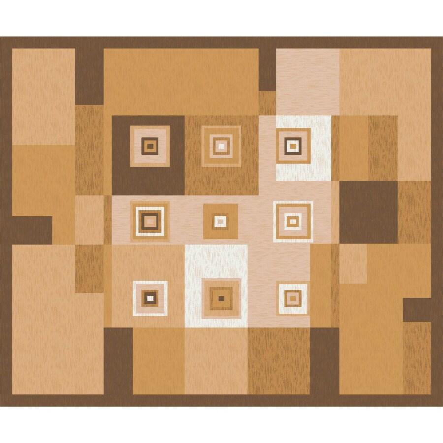 Milliken Bloques Multicolor Rectangular Indoor Tufted Area Rug (Common: 10 x 13; Actual: 129-in W x 158-in L)