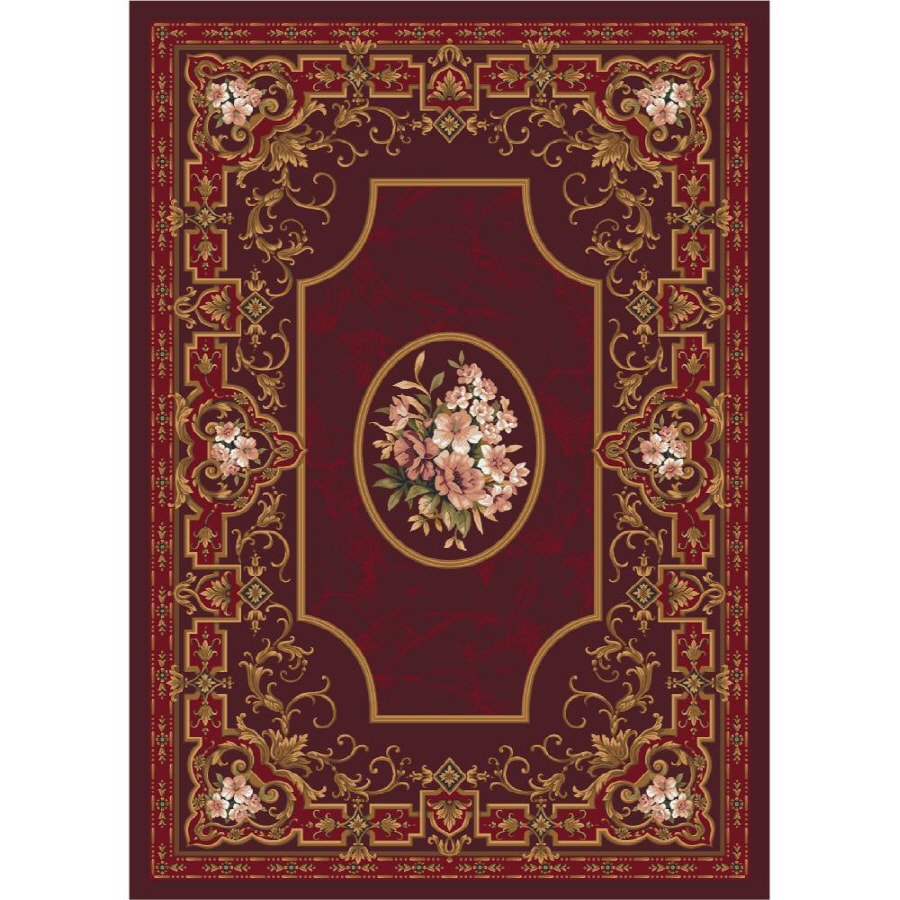 Milliken Montfluer Multicolor Rectangular Indoor Tufted Area Rug (Common: 8 x 10; Actual: 92-in W x 129-in L)