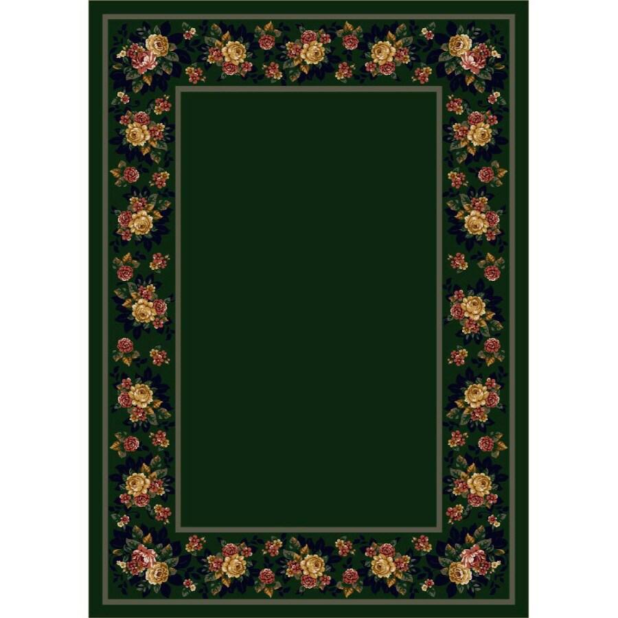 Milliken Imperial Rose Multicolor Rectangular Indoor Tufted Area Rug (Common: 8 x 11; Actual: 92-in W x 129-in L)